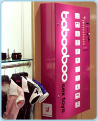 Tabooboo Vending Machine